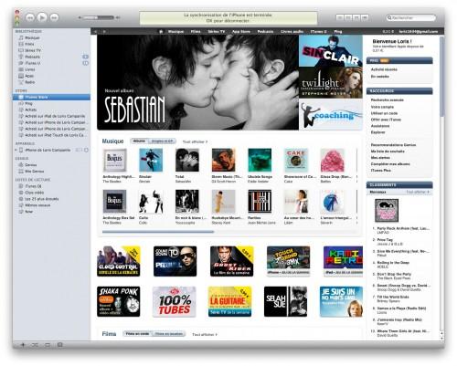 itunesbeatler 500x401 News   iTunes accueille à nouveau les Beatles