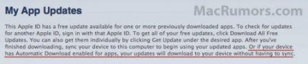 majautoios5 News   Une mise à jour automatique des applications dans liOS 5 ?