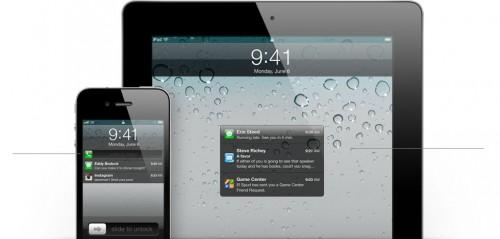 notificationcenter 500x239 News   Le Notification Center sur liOS 5