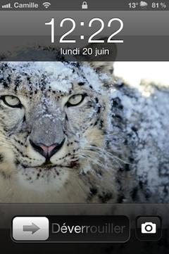 photo 1 Cydia   CameraLock : Ajoutez un accès rapide à la caméra sur le LockScreen [MAJ]