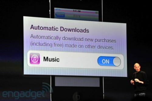 phpUMRyCowwdcitunescloud3 500x332 News   Résumé de la KeyNote : iOS 5 et iCloud