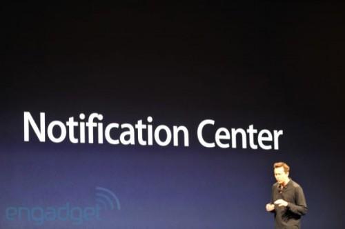 phpXA7eS4wwdcnotifcicationcentr 500x332 News   Résumé de la KeyNote : iOS 5 et iCloud