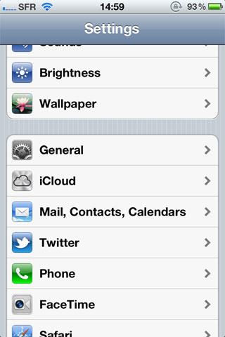 settingsicloud News   Quelques petits détails sur lOS 5.0 beta 2