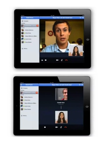 skypeipad News   Skype pour iPad prochainement disponible