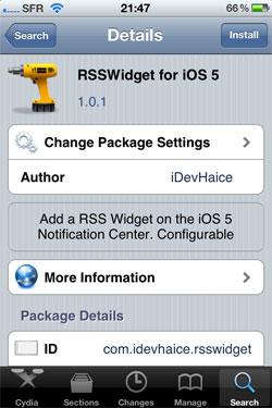 sswidget2 Cydia   RSSWidget passe en version 1.0.1
