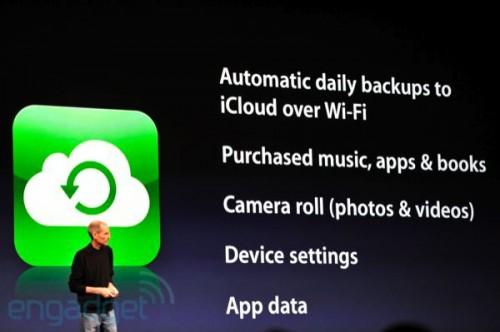 stevejobswwdc2011liveblogkeynote0926 500x332 News   Résumé de la KeyNote : iOS 5 et iCloud