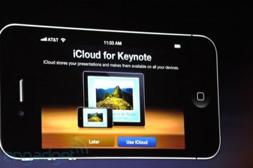 stevejobswwdc2011liveblogkeynote0936 500x332 News   Résumé de la KeyNote : iOS 5 et iCloud