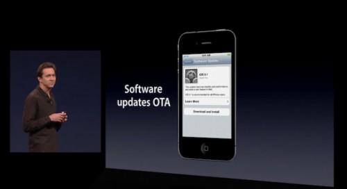 ta 500x272 News   Les mises à jour OTA avec liOS 5.0 en 3G également
