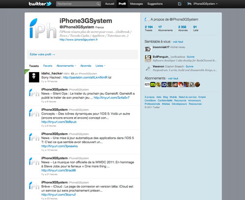 twitter iph News   Scott Forstall Senior Vice Président iOS se met à Twitter ?