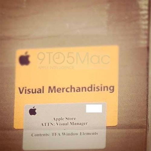 visual merchandises WWDC Brève   De mystérieux paquets pour optimiser la vente de produits pour la WWDC