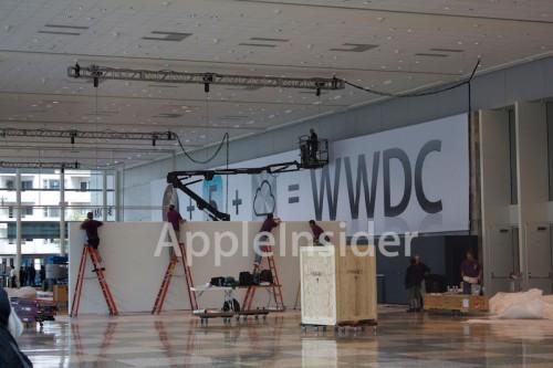 wwdc20112 500x333 News   WWDC 2011 : iCloud a son icône