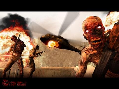 zombie Jeux   Desert Zombies: Last Stand : attention ça décoiffe