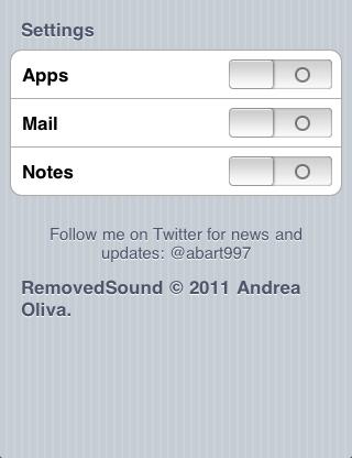 2 Cydia   TweakWeek : les deux derniers tweaks de Andrea Oliva