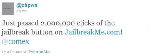 365413513. 500x184 News   JailbreakMe 3.0 a dépassé les 2 millions dutilisateurs