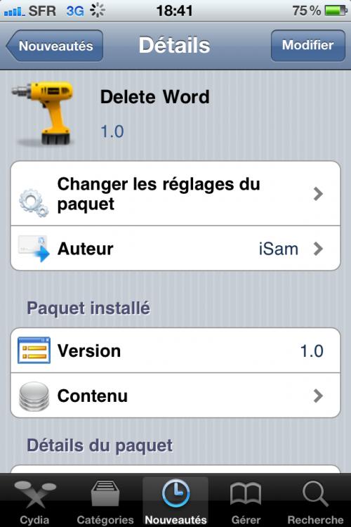 IMG 0751 500x750 Cydia   Delete Word : Effacer un mot entier plus rapidement
