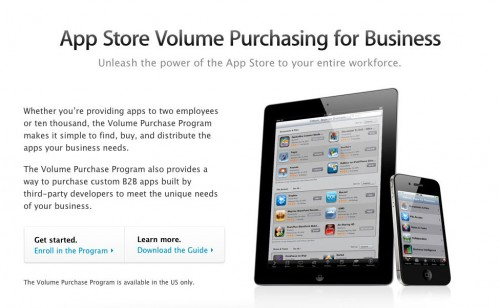 appstoreentreprise 500x308 News   Apple lance lApp Store pour les entreprises