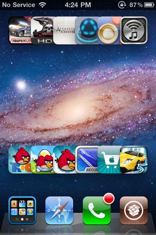 customgrid2 [CYDIA] Liste des tweaks compatibles iOS 6