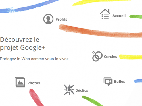 google+ 500x373 Brève   Lapplication iPhone officielle de Google+ en attente de validation