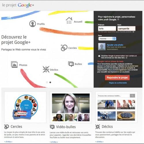googleplus2 500x499 News   Le service Google+ ouvre ses portes