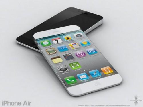 i5concept 500x374 Concept   Un iPhone 5 inspiré du MacBook Air