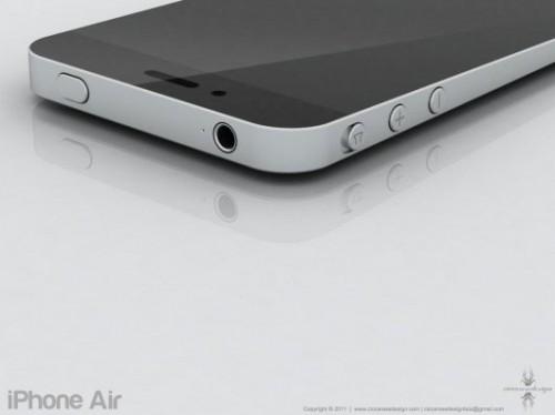 i5concept2 500x374 Concept   Un iPhone 5 inspiré du MacBook Air