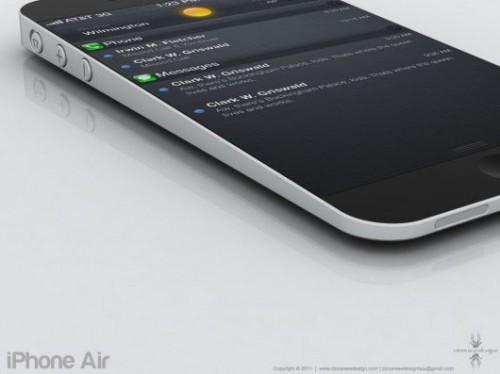 i5concept3 500x374 Concept   Un iPhone 5 inspiré du MacBook Air