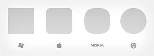 icons apple microsoft hp nokia Brève   Étude des icônes chez les marques Apple, Microsoft, HP et Nokia