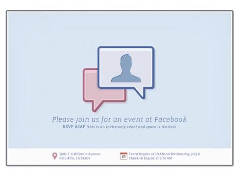 invitation 500x348 News   Facebook et Skype en collaboration