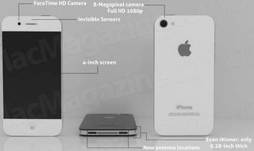iphone5 500x298 News   Apple : un nouveau produit en septembre