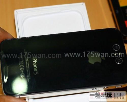 iphone5 dos 500x402 Rumeurs   Une photo du dos de liPhone 5 ?