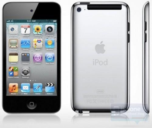 itouch5 500x419 Concepts   Un iPod Touch de cinquième génération