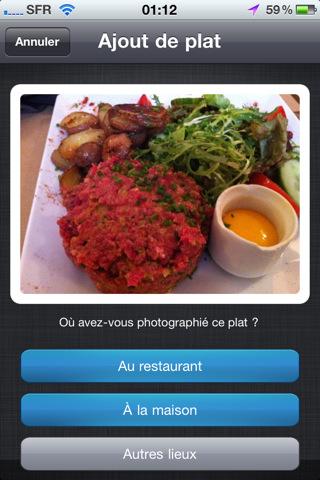 mzl.jgtldtat.320x480 75 AppStore   Prenez les plats en photo avec Food Reporter