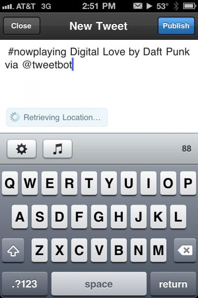 npft Cydia   NowPlaying for Tweetbot se met à jour en version 1.5