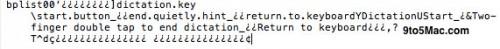 nuanceocde 500x49 News   Des références au framework Nuance dans liOS 5.0