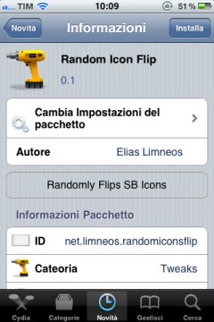 randomicon1 Cydia   Random Icon Flip : troisième tweak de Elias Limneos