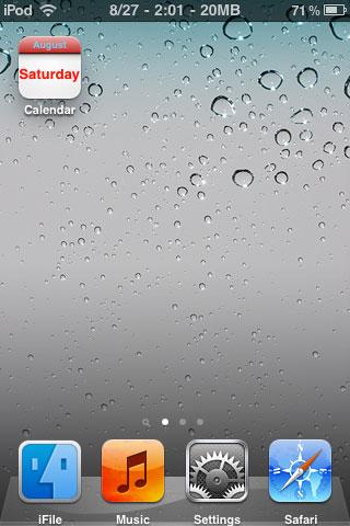 110 Cydia   Friday13 : Afficher votre date préférée sur licône Calendrier
