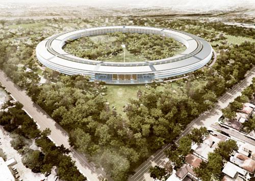 12 News   Cupertino donne des détails sur the MotherShip le prochain bâtiment de Apple
