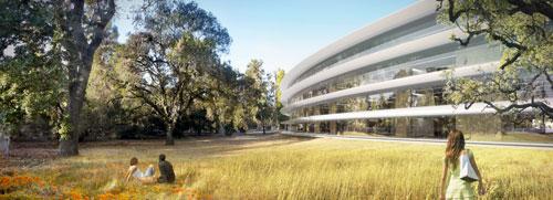 13 News   Cupertino donne des détails sur the MotherShip le prochain bâtiment de Apple