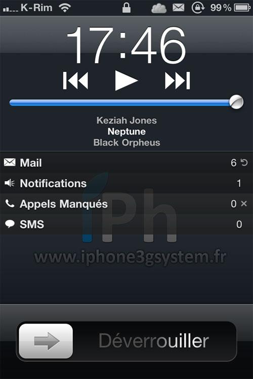 27 Cydia   LSAlwaysShowMediaControls  : Contrôles iPod dans le LockScreen