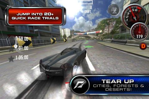 31 Jeux   Need for Speed Shift 2 : Unleashed disponible sur lAppStore ! [MAJ]