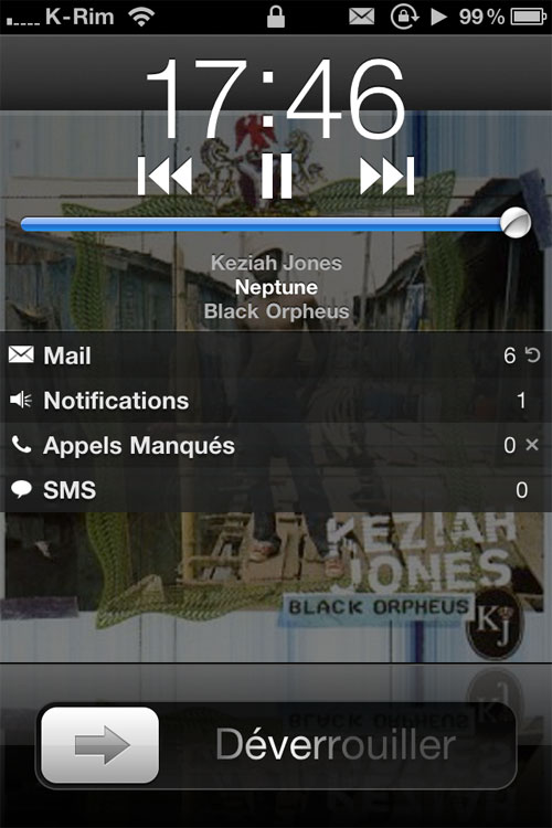 35 Cydia   LSAlwaysShowMediaControls  : Contrôles iPod dans le LockScreen