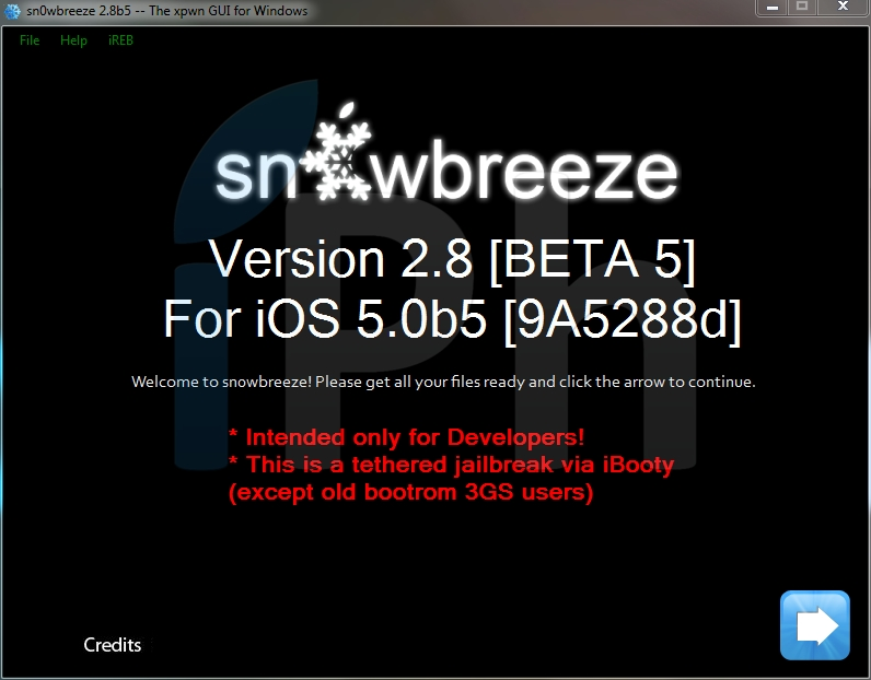 35486 Jailbreak News   Sn0wbreeze se met à jour en version 2.8 bêta 5