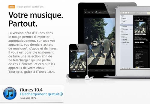 37 News   iTunes 10.4.1 est disponible