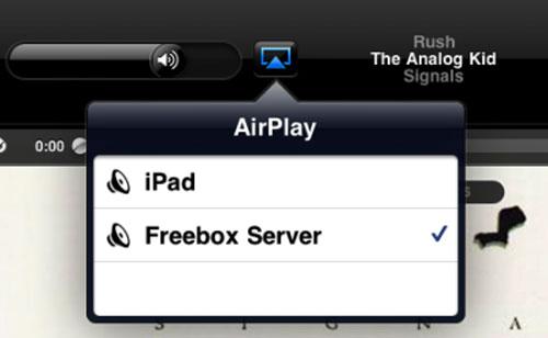 38 Tutoriel   Diffuser en AirPlay sur la Freebox Révolution