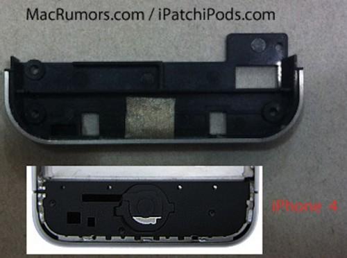 4s3 500x372 Rumeur   La structure de liPhone 4S en photo ?