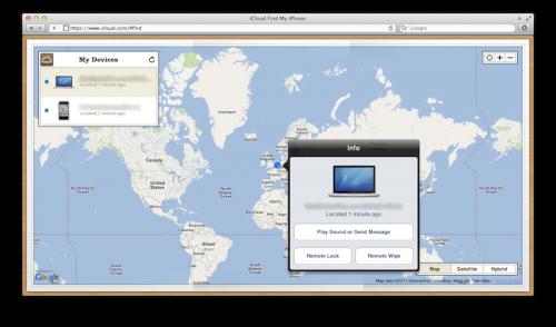 846846 500x294 News   Find my iPhone et Find my Mac disponibles sur iCloud.com