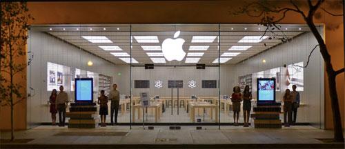applestore AppleStore : un pourcentage de revenus en baisse