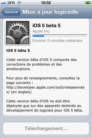 beta5 News   LiOS 5.0 beta 5 est disponible