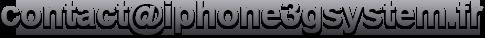 email News   Projet iPhone3GSystem : un Lockscreen vraiment unique