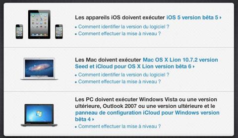 icloud1 News   La migration de MobileMe vers iCloud a déjà commencé pour les développeurs